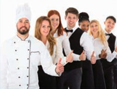 restaurants staff